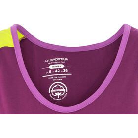 La Sportiva Dihedral Débardeur Femme, plum/purple